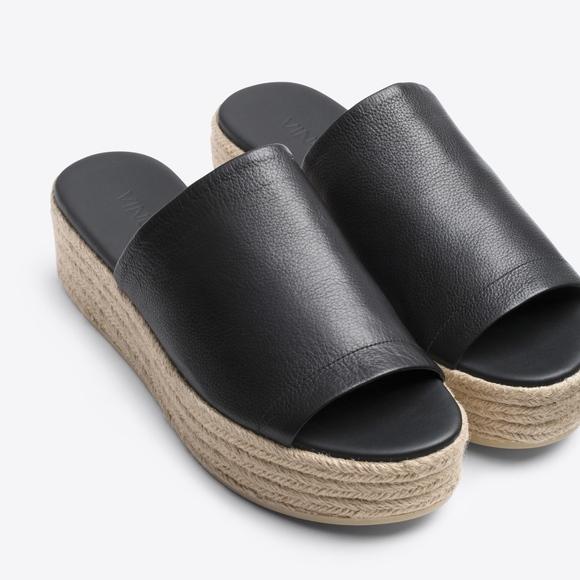 d70fcbe67b67 Vince Solana Leather Platform Espadrille Sandal